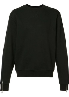 Mostly Heard Rarely Seen zipped sleeves sweatshirt