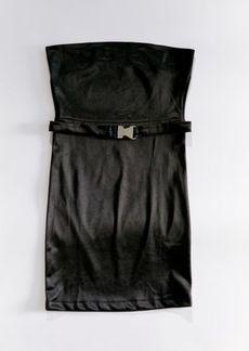 Motel Himawa Strapless Dress