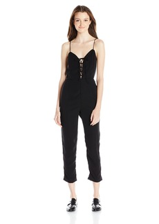 Motel Women's Maho Lace up Jumpsuit
