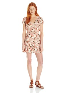 Motel Rocks Motel Women's Tahnee Daisy Print Dress