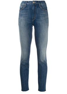 Mother Denim acid wash jeans