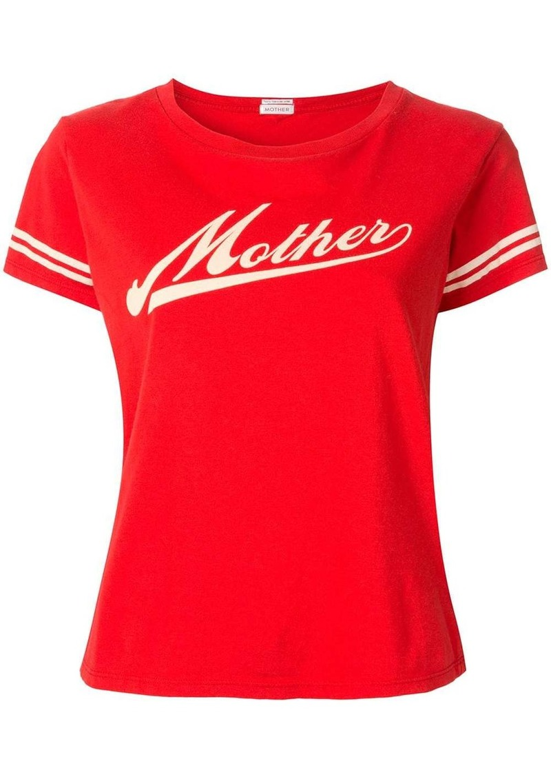 Mother Denim contrast logo T-shirt