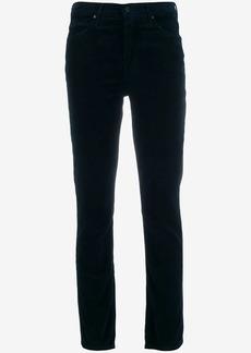 Mother Denim corduroy slim-fit trousers