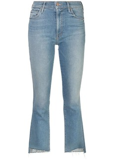 Mother Denim cropped bootcut jeans