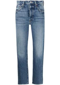 Mother Denim cropped skinny jeans