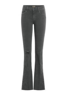 Mother Denim Distressed Flared Jeans