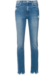 Mother Denim distressed skinny jeans