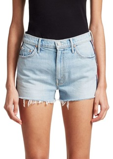 Mother Denim Easy Does It Denim Shorts