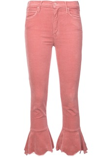 Mother Denim flared cropped jeans