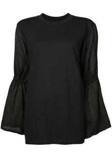 Mother Denim flared sleeve blouse