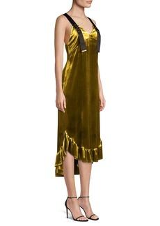 Mother Denim Florence Velvet Dress