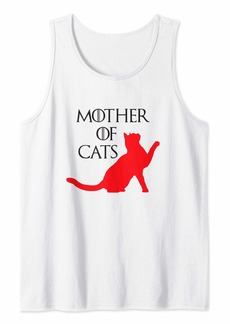 Mother Denim Funny Mother of Cats Shirt Gifts for Mom from Son Daughter Tank Top