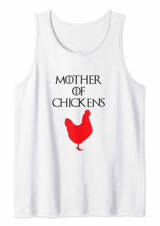 Mother Denim Funny Mother of Chickens Shirt Mom Gifts from Son Daughter Tank Top