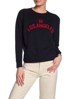 Mother Denim Graphic Pullover Sweatshirt