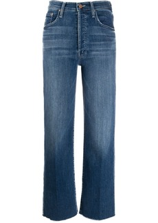 Mother Denim Groovin high-waisted jeans