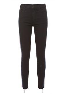 Mother Denim High Waist Looker Ankle Fray Jeans