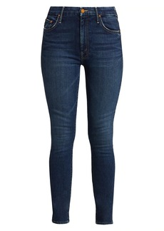 Mother Denim High-Rise Looker Skinny Jeans