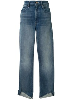 Mother Denim high-rise straight jeans