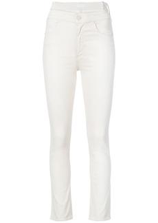 Mother Denim high-waist skinny jeans