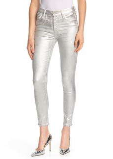 Mother Denim High Waisted Looker Ankle Jeans