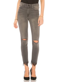 Mother Denim High Waisted Looker Dagger Ankle