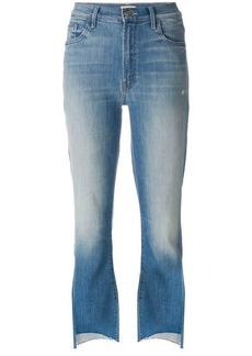 Mother Denim Insider Crop Step Fray jeans
