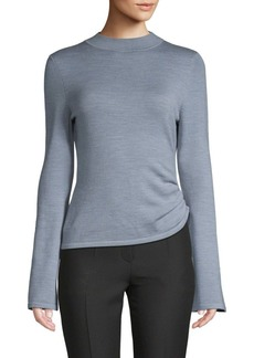 Mother Denim Joules Pearl Asymmetric Knit Top