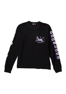 Mother Denim Long Sleeve Boxy Goodie Good Sweatshirt