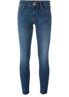 Mother Denim 'Looker' ankle fray jeans