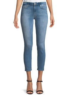 Mother Denim Looker Cropped Denim Jeans