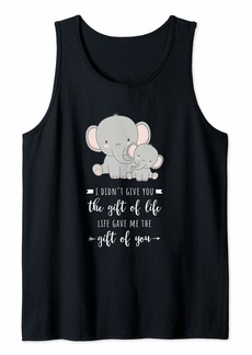 Mother Denim Mama elephant I didn't give you the gift of life Tank Top