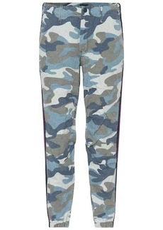 Mother Denim Mid-rise camouflage pants