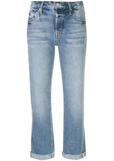 Mother Denim mid-rise cropped jeans