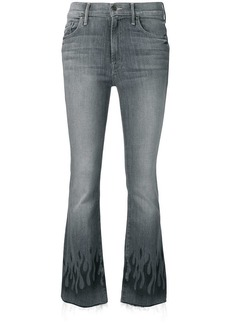 Mother Denim mid rise flared jeans