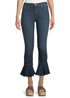 Mother Denim Cha Cha Fray Ankle Jeans