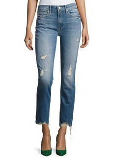 Mother Denim Flirt Fray Slim Jeans