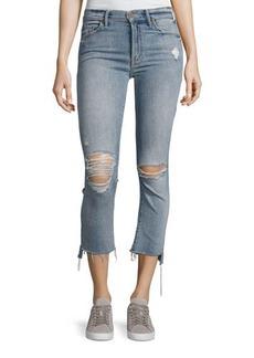Mother Denim Insider Crop Straight Jeans
