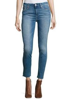 Mother Denim Looker Ankle Fray Denim Jeans