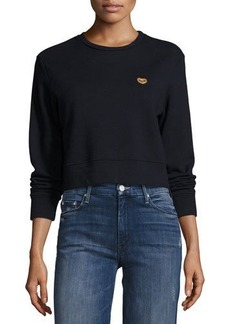 Mother Denim Open Your Heart Sweatshirt