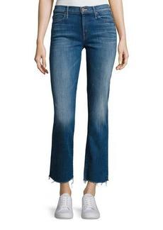 Mother Denim Rascal Ankle Snippet Denim Jeans