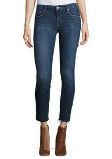 Mother Denim The Looker Ankle Fray Girl-Crush Denim Jeans