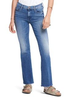 Mother Denim MOTHER Fray Hem Bootcut Jeans (Groovin)