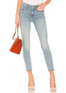 Mother Denim MOTHER High Waisted Looker Ankle Fray