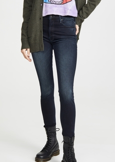 Mother Denim MOTHER High Waisted Looker Ankle Fray Jeans