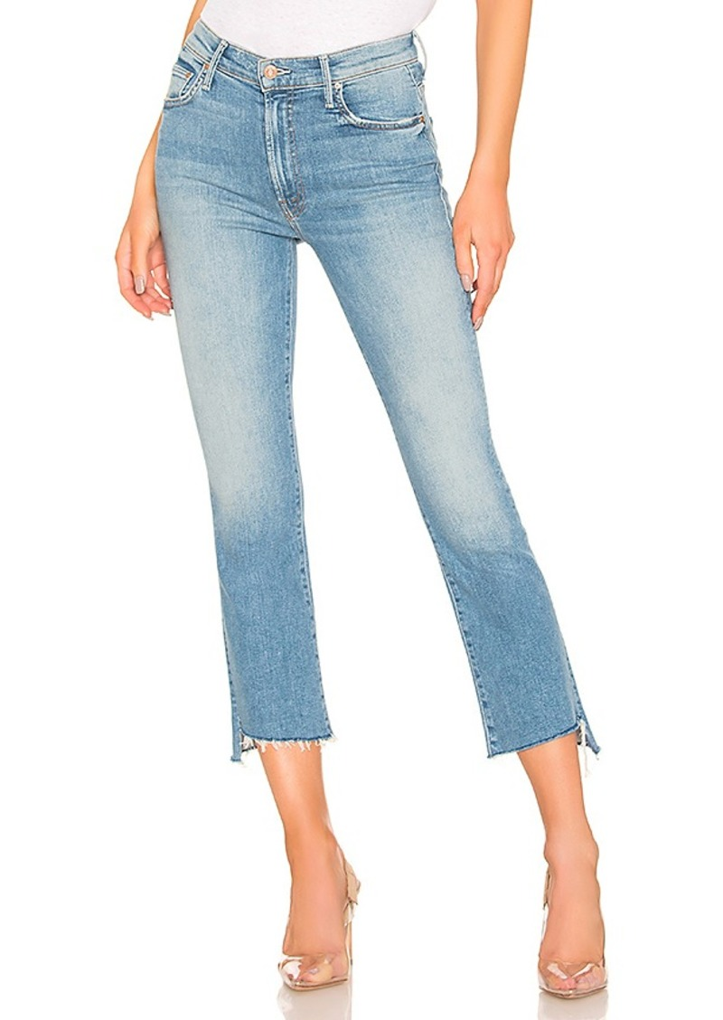 Mother Denim MOTHER Insider Crop Step Fray