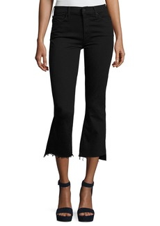 Mother Denim Insider Crop Step Fray Jeans