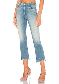 Mother Denim MOTHER Insider Crop Two Step Fray
