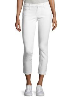 Mother Denim MOTHER Looker Glass Slipper Crop Jeans