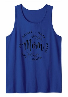 Mother Denim Mother Mama Madre Mommy Mom Ma Mom Tank Top