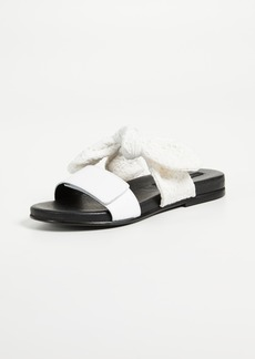 Mother Denim Mother of Pearl Alfie Slides